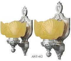 Shell Sconces Vintage Hardware U0026 Lighting