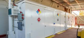 Free Standing Storage Building by Us Coatings Offers Prefabricated Hazardous Material Storage