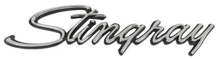 stingray corvette logo corvette emblem front fender stingray 1974 1976