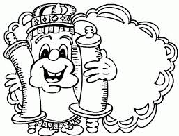 torah tots parsha on parade talmi print coloring page within