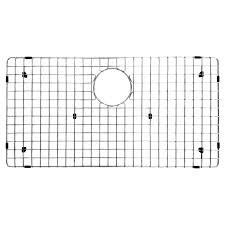 Ancona Kitchen  Stainless Steel Sink Grid With Polished - Kitchen sink grids