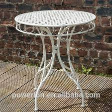 Antique Wrought Iron Patio Furniture by Antique Wrought Iron Outdoor Furniture Round Table Buy Antique