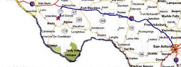 davis map map from san antonio to fort davis fort davis national historic
