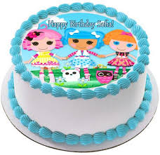 sofia the cake topper lalaloopsy edible birthday cake or cupcake topper edible prints