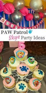 paw patrol skype birthday party ideas paw patrol birthday party