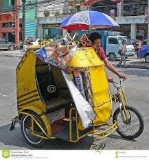 philippines taxi bicycle taxi manila philippines editorial image image 94200755