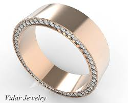 unique mens wedding band gold morganite mens wedding band vidar jewelry unique