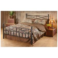 tranquil sleep decorative metal bed frame 633386 mattresses