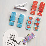 Decorative Clothespins Clothespins Unfinished Wood Craft Supplies