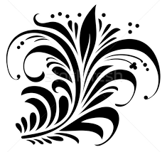 floral ornament vector illustration sergey oganesov ensiferrum