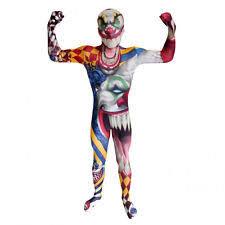 Halloween Costumes Kids Scary Clown Kids Scary Clown Costume Ebay