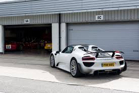 Porsche 918 Hypercar - the holy trinity of hypercars at silverstone drivingline