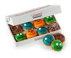 scary delicious krispy kreme doughnuts debuts halloween doughnuts