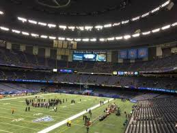 mercedes superdome mercedes superdome section 319 home of orleans saints