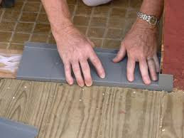 Laminate Flooring At Doorways How To Install A Handicap Accessible Exterior Door How Tos Diy