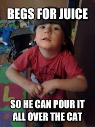 Funny Toddler Memes - scumbag toddler why isnt this a thing yet meme guy
