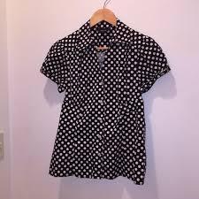 alfani blouses 69 alfani tops alfani polkadot blouse 8 from c s closet on