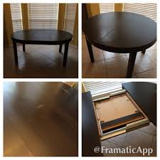Ikea Extendable Table by Find More Ikea Bjursta Extendable Round Dining Table For Sale At