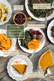 3 course vegan and gluten free menu step by step oh