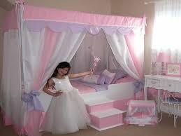 Girls Canopy Bedroom Sets Kids Beds Wayfair Kids Bunk Bed Childrens Trundle Beds Fun