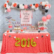 graduation party chalkboard decoration idea miss welden chalk