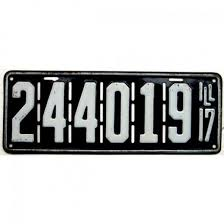 Il Vanity Plates 10 Fun Facts Us License Plates Hubpages