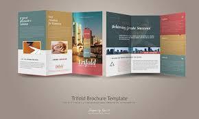 tri fold brochure template free free tri fold brochure vector
