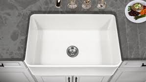 Fireclay Apron Front Kitchen Sink  Houzer - Fireclay apron front kitchen sink