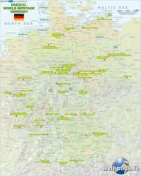 Wurzburg Germany Map by Map Of Unesco World Heritage Germany Map In The Atlas Of The