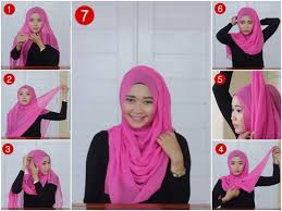 tutorial hijab segi empat paris simple new tutorial hijab segi empat paris simpel