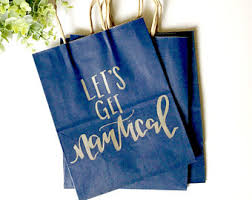 nautical gift bags gift bags lettered gift bags lettered