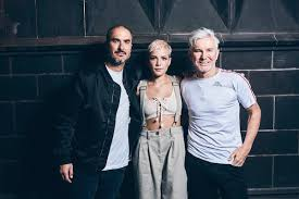 baz luhrmann halsey releases new song eyes closed watch her interview with