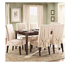 Dining Room Chairs Covers Top  Best Dining Room Chair Covers - Short dining room chair covers