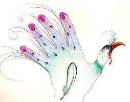drawn turkey hand turkey pencil and in color drawn turkey hand