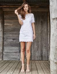 robe de mariã courte robe de mariée courte et droite grace lace les plus belles