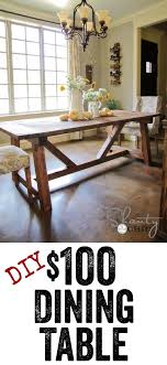 Best  Diy Dining Room Table Ideas Only On Pinterest Farm - Making dining room table