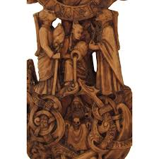norse world tree yggdrasil plaque as seen in captain america wicca