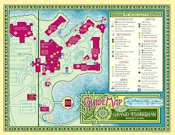disney u0027s grand floridian resort and spa map florida pinterest