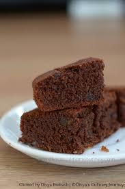 divya u0027s culinary journey wheat and ragi chocolate cake recipe