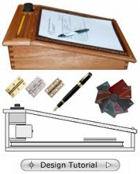 plans for portable writing desk timber frame furniture plans