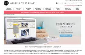 wedding websites free how to create the wedding website