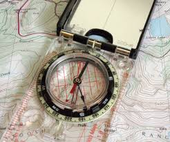 Compass Map How To Navigate With A Map And Compass 7 Steps With Pictures