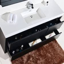 Modern Bathroom Vanity Sets by Black Modern Bathroom Vanity Sets Complete With Sink And Faucet