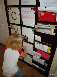 kids organization ana white pb kids inspired family daily organization board diy