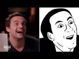 Popular Internet Meme - jake johnson imitates popular internet memes speakeasy youtube