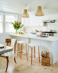 12 genius decorating ideas for small kitchens coastal living white nantucket kitchen