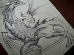 pen dragon drawing youtube