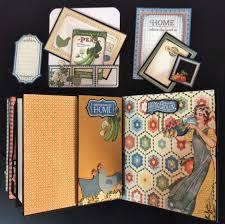5 X 5 Photo Album Annes Papercreations Graphic 45 Home Sweet Home 5 X 5 Mini Album