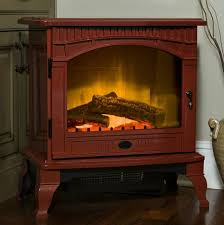 Electric Fireplace Stove Dimplex Lincoln Cranberry Electric Fireplace Stove With Remote