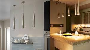Small Kitchen Pendant Lights Kitchen Designs Metallic Cone Kitchen Pendant Lights 30 Unique